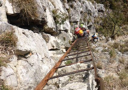 Klettersteig Roen : Bozen klettersteige