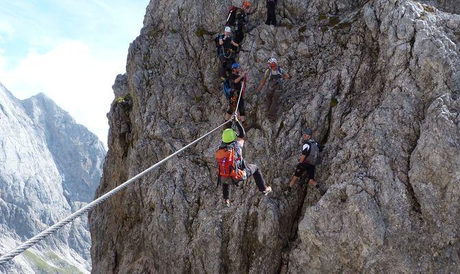 Klettersteig Hochkönig : Bergfex königsjodler klettersteig c d hochkönig